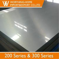 Free Samples Interior Decoration 2B BA NO 4 8K Finish 201 Stainless Steel Sheet
