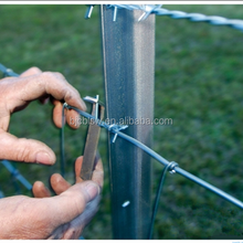 Wholesale Removable Steel Studded Y Fence Post