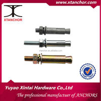 BZP / YZP / HDG carbon steel / ss bolt anchor / hilti anchor bolt
