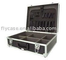2013 new design best quality Japanese style aluminum tool case ,tool carry case ,tool suitcase with tool plate and safe locks