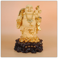 54cm size chinese lucky buddha statue ,jade buddha statue different color can choose