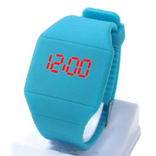Girls and Boys Student Storm New Touch Screen LED Digital Clock Colorful rubber Women Fitness Sports Watches