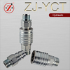 ZJ-YCT steel push pull type male plug quick disconnect couplings