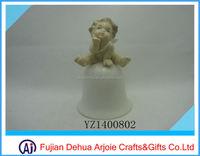 Porcelain Angel Dinner Bell