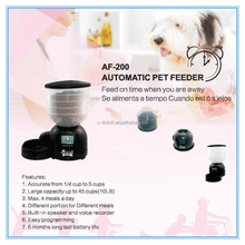Best 4 Meal Smart Personalized Electronic Automatic Pet Feeder and bowls