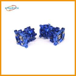 Hot sale high quality cnc blue motorcycle rear hub 110cc