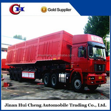 2015 top ranking 13 m long 3-4 axles side tipping trailer with loading capacity 60 ton