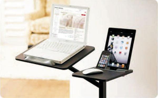 canap plateau pour ordinateur portable table d. Black Bedroom Furniture Sets. Home Design Ideas
