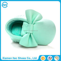 Wholesale mix color toddler moccasins fashion baby shoes