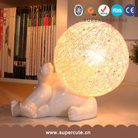 new arrived white porcelain decorative chinese table lamps