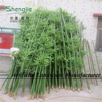 Bamboo plant sticks wholesale/Artificial bamboo poles lucky bamboo decoration