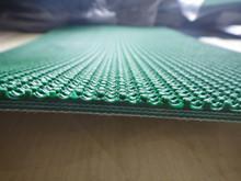 6mm Green rough top pvc belt
