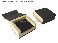 New design book shape Watch or Bangle Jewlery packaging paper box P1775WB