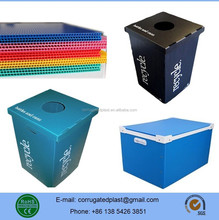 PP Plastic Coroplast Folding Box/Crates/Containers