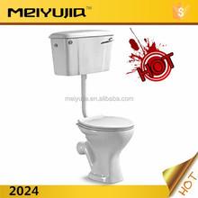 2024R Africa style cheapest price ceramic sanitary ware washdown two piece toilet ceramics bowls