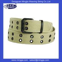 new design custom man canvas polyester belt