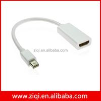 Displayport mini dp male to female converter cable
