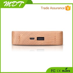 Top selling 2015 wooden power bank external battery charger power bank alibaba supplier