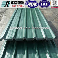 used galvanized corrugated sheet for building materials