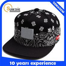 custom plain for sale short brim printing design your own woven label logo oem snapback caps