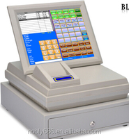 """Easy operated 12 """" touch screnn cheap linux pos terminal"""