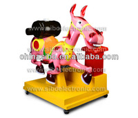 GM5525 funny Madagascar Gloria rides with coin operated