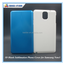3D Blank Sublimation Phone Cover Model for Samsung Note3 Sublimation Blank Phone Case Model