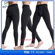 Top selling products in alibaba fitness active Men's tight Compression pants,long compression wear