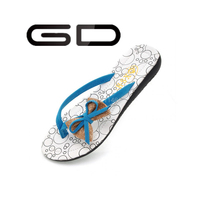 Creative cheap women nude beach walk rubber slippers