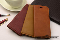 Luxury magnet detachable wallet style flip leather phone case for iphone 6S