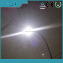 2.5mm PMMA plastic fiber optic cable end light emitting