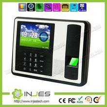 MYA7 INJES TCP IP Battery Color Screen 1000 Fingerprint Design Biometric Time Attendance System Device