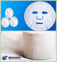 Hot selling Spunlace nonwoven white compressed paper face mask for traveling use