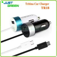 Wholesale On Alibaba TR18 18-month Warranty Micro USB Cable 12 V battery car charger made in China
