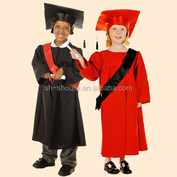 Children\'s / Kids Graduation Gown And Hat Set - Buy Kids Graduation ...