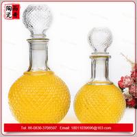500ml glass bottle glass wine jars