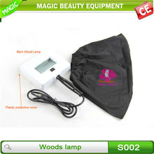 For home use portable wood lamp skin analyzer