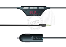 Smart Phone Hi-Fi Auto FM Transmitter with FM Frequency Quick Setting