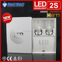 2015 All in one 3600lm ETI chips with CE ROHS car led headlight--BAOBAO LIGHTING