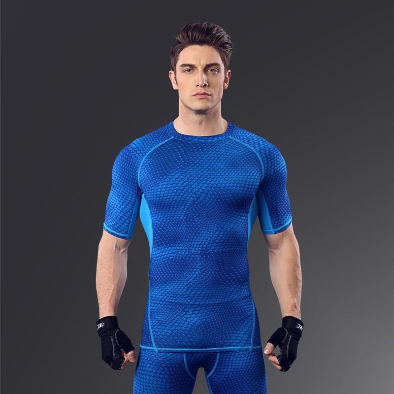 Custom Fitness Apparel Men's GYM Sport T Shirt Factory 5