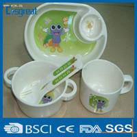 100%safety melamine dinnerware for kids