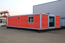 Economical Flat Pack Residential beautiful container house side