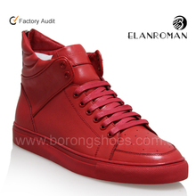 2015 high quality Men leather Sneakers Wholesale Manufacturer In China