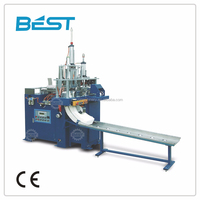 Fully automatic lunch paper box making machine after testing reduce labor costs improve production efficiency