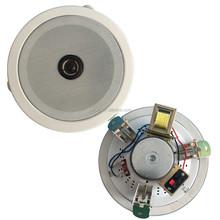 6 .5inch 100V public address system metal ceiling speaker with twetter