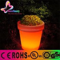 garden flower pot,cemetery flower pot,glowing flower pot