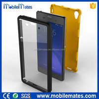 for Sony Z3 Hard Case, Smooth Surface Detachable Full Protection Screen Protect Cover Case for Sony Xperia Z3