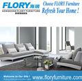 Tecidos estofamento de sofá móveis com pés de metal F891