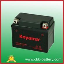 high performace Honda 12v 3ah Sealed lead acid AGM mf Motorcycle Battery YTZ3S-MF