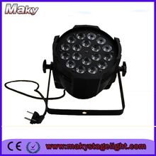High quality China wholesale 18*15W RGBWA 5in1 led par lights for wedding stage